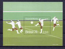 Wm 234 Block 100% ** Fußball Paraguay 1974 Mi Bl
