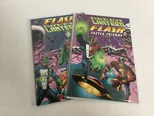 Flash Green Lantern Faster Friends 1-2 Lot Set Run Nm Near Mint DC Comics A48