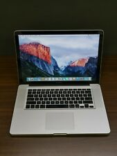 "Apple 2012 MacBook Pro 15"" / 2.60Ghz QUAD-Core i7 / 8GB / 750GB + Warranty"