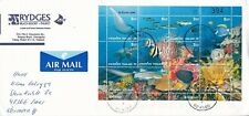 2002 Thailand #1960 on cover, Ko Kaeo to Germany; Marine Life, fish topical  *d