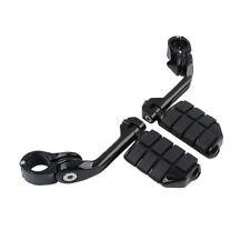 """Long Mount 1 1/4"""" Highway Foot Pegs Footrest For Honda VT600 VT750 VT1100 VT1300"""