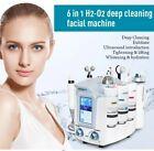 6in1 H2 O2 Hydro Dermabrasion Facial Peel for Spa deep clean bubble aqua machine