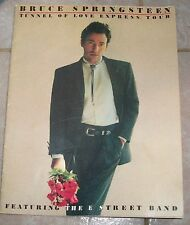 BRUCE SPRINGSTEEN Tunnel of Love Express Tour PROGRAM BOOK 1988, AWESOME PHOTOS!