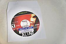 ALIAS XBOX GAME DISC ONLY