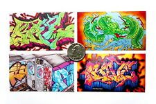 Lot of 6 KRINK Sticker Pack Graffiti Street Art Supplies Markers Slaps