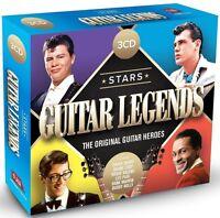 STARS-GUITAR LEGENDS feat. DICK DALE, BUDDY HOLLY, CHUCK BERRY, u.a. 3 CD NEW+