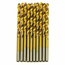 50Pcs /40PcsTitanium Coated Hss High Speed Steel Drill Bit Set Tool Tya