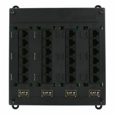 s l225 cat 6 ethernet (rj 45) 24 port network patch panels ebay  at edmiracle.co