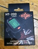 Rotosound HT200 Chromatic Clip-on - Quality Guitar, Bass, Violin & Ukulele Tuner