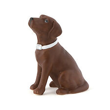 Chocolate Brown Labrador Dog Wedding Cake Topper Weddingstar