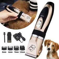 electric cordless Rechargeable Hair grooming Trimmer for Dog Cat Pet clipper
