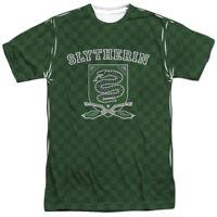 Official Harry Potter Slytherin Quidditch Team Uniform Sublimation Front T-shirt