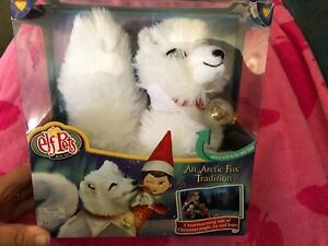 Elf Pets: an Arctic Fox Tradition BRAND NEW IN BOX Great Gift FREE SHIPPING