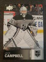 2019-20 Upper Deck Overtime Hockey Card Jack Campbell #159