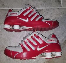 ONLY ONE ON EBAY! WOMEN'S NIKE SHOX NZ SIZE US6.5 UK4 GREAT RED COLOR!