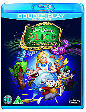 Alice In Wonderland Double Play (Blu-ray and DVD Combo, 2011, 2-Disc Set)