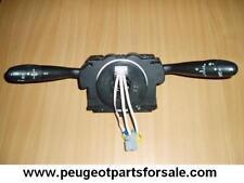 PEUGEOT 206 / CITROEN COM 2000 UNIT LIGHT SWITCH INDICATORS WIPERS COLUMN SQUIB