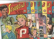SCIUSCIA. Lot des n°52 à 59  - SAGE 1950. TTB