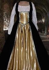 Renaissance Medieval Tudor Midas Touch Costume SCA Garb Full Skirt BiLcgBodiceXL