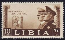 LIBIA 1941 - HITLER E MUSSOLINI - C. 10 - MNH