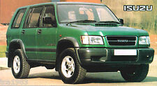 1998 ISUZU TROOPER 3.5 LWB SPEC SHEET / Brochure / Catalog