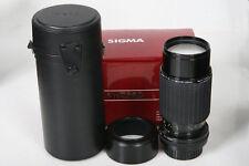 Sigma 70-210mm f/4.5 Nikon AI-s lens Manual Focus in original box