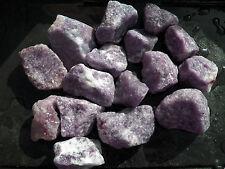 1 lb LEPIDOLITE Rough TUMBLING ROCK Tumbler Tumble Brazil lovely stone