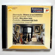 Mussorgsky: Pictures at an Exhibition Kodaly: Hary Janos Suite CD Sony Szell