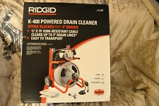 Ridgid 52363 K 400 115v Drum Machine Factory Sealed