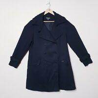 Katies Womens Plus Size 18 Black Elegant Classy Trench Pea Coat Jacket
