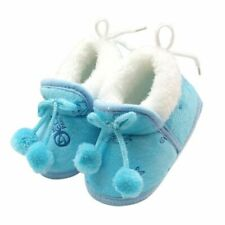 Winter Sweet Newborn Baby Girls Princess Winter Boots First Walkers Soft Soled