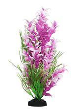 Planta de plástico AquaManta-Púrpura Ludwigia/Verde Blyxa (30 Cm)
