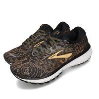 Brooks Ghost 12 New York City Marathon Black Gold Women Running Shoes 120305 1B
