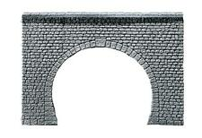 Faller 272631 Spoor N: Tunnelingang dubbelsporig, natuursteenblokken