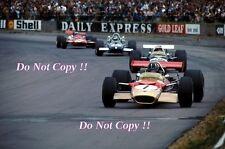 Graham Hill Gold Leaf Team Lotus 49B British Grand Prix 1969 Photograph 2