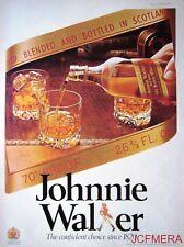 1977 Johnnie Walker 'Red Label' Scotch Whisky Advert #3 - Original Print AD