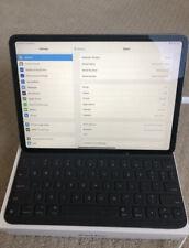 Apple iPad Pro 3rd Gen 256GB Wi-F, 11in w/ Smart Keyboard Folio
