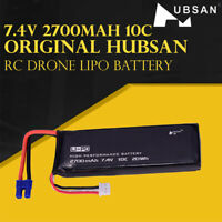 Hubsan RC Drone Lipo Battery 7.4V 2700mAh 10C H501S-14 for H501S H501C H501S Pro