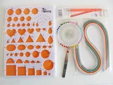KIT QUILLING 6 pièces gabarit outils paperolles bandes papier Loisirs créatifs