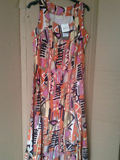 Cotton Scoop Neck Casual Sundresses for Women