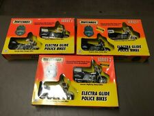 Matchbox Collections Police Motorcycle Series Lot All New in the Package