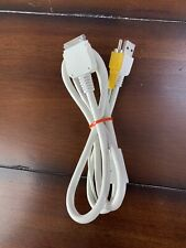 Apple iPod iPad IPhone 30-pin to Composite AV and USB Adapter Cable