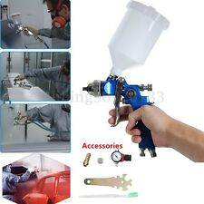 Gravity Feed HVLP Air Paint Spray Gun 1.4MM Nozzle +Regulator Paint Primer RK02