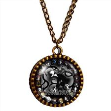 Creepypasta CREEPY PASTA Slender Man Necklace Jewelry Pendant Cosplay Men Gift