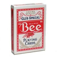 Bee Poker Playing Cards Casino Resort Sealed Deck Used at Golden Nugget
