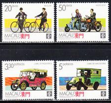 MACAO MACAU 1988 MODES OF TRANSPORTATION SCOTT 568-571 MLH