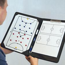 NEW Precision Futsal Coaches Tactic Folder - Cheap Managers a4 tactics Board