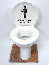 star wars style3 feel the force Toilet Seat Sticker Fun Decal Vinyl Sticker