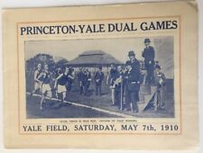 1910 Princenton vs Yale Dual Games Track And Field Yale Field