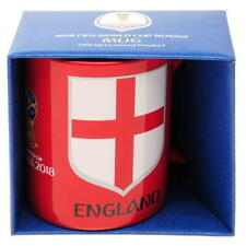 Fifa World Cup Russia 2018 Official ENGLAND Coffee Mug Ceramic in Gift Box
